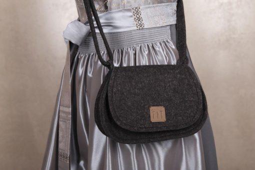 Trachtentasche / Dirndltasche Schwarz
