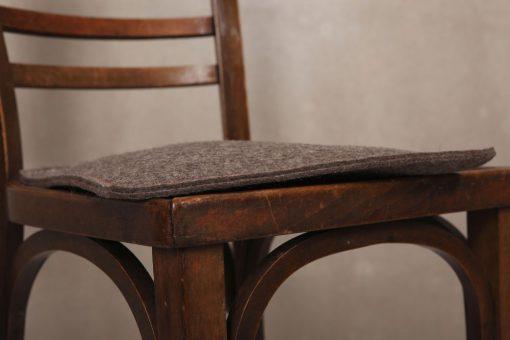 Sitzkissen Stuhlauflage Katzenkissen, 1- oder 2-farbig