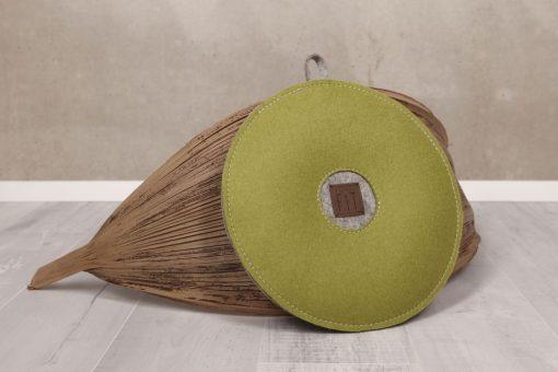 Yogakissen / Sitzkissen m. Alpakawolle, versch. Farben