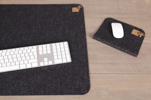 Schreibtisch-Office-Set (2) Schwarz