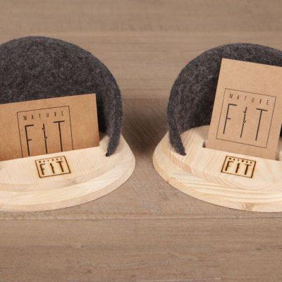 Visitenkartenhalter aus Zirbenholz