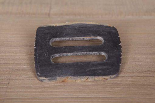 Hornschnalle Schließe aus Naturmaterial