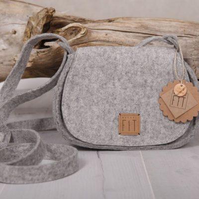 Trachtentasche / Dirndltasche Grau