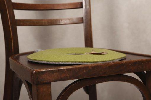 Yogakissen / Sitzkissen Lindgrün