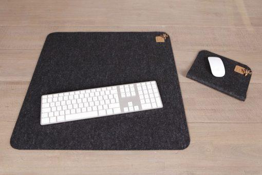 Schreibtisch-/ Office-Set (2) Schwarz