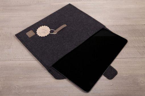 iPad-Hülle / iPad-Tasche Schwarz